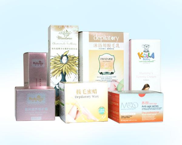 化妆品包装盒-柏纷