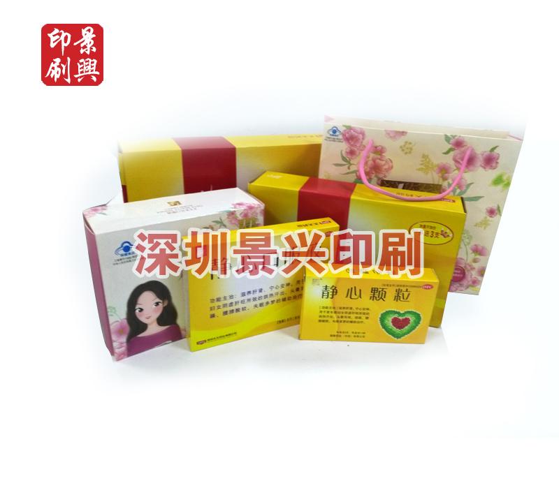药盒包装印刷-太太药业